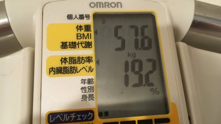 2018/8/16〜8/31 体重経過と運動とイベントの記録 詳細