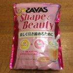 SAVAS ザバスプロテイン Shape&Beauty