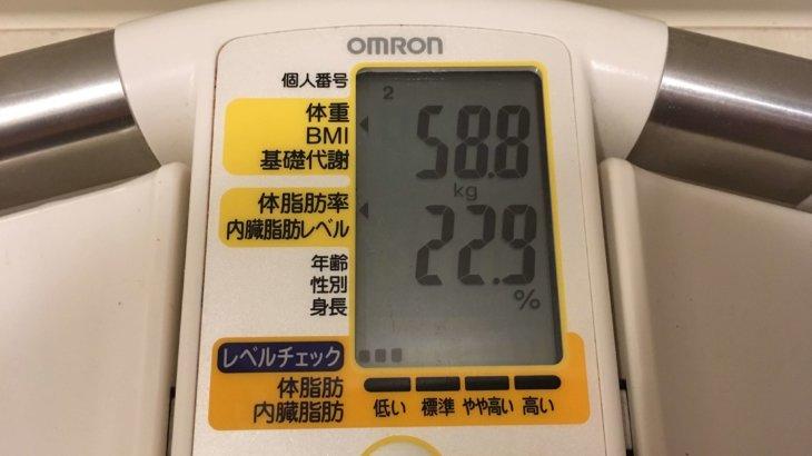 2019/6/1〜2019/6/15 体重経過と運動とイベントの記録 詳細