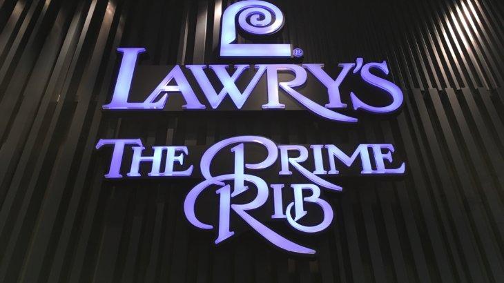 Lawry's The Prime Rib,Osaka ロウリーズ・ザ・プライムリブ 大阪で誕生日祝いランチ