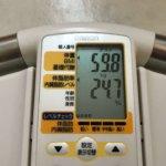 2020/4/16〜2020/4/30 体重経過と運動の記録 詳細